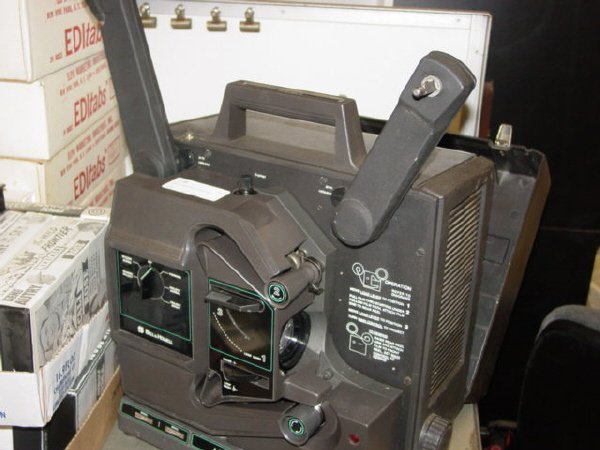 1010: Bell & Howell Projector with Sound-