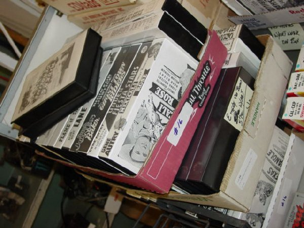 1016: Lot- VHS Cases-Total count is 60 cases