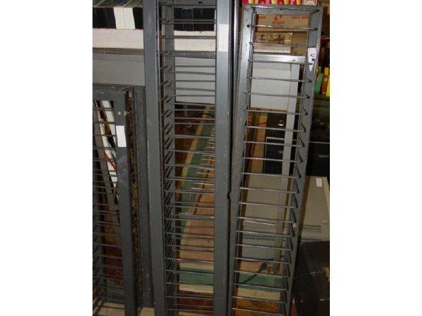 1017: Lot-Metal Film racks