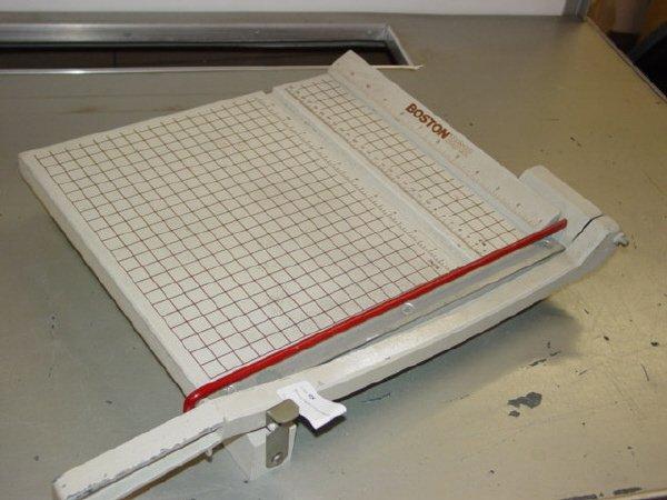 1098: Boston Paper Cutter-Model 2612