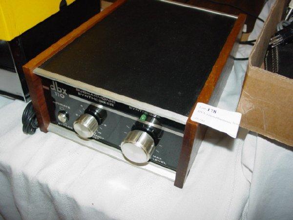 1178: DBX 110 Subharmonic Synthesizer