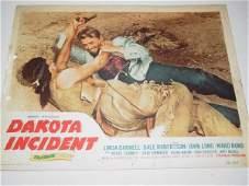 1307: Dakota Incident Lobby Cards - Starring Linda