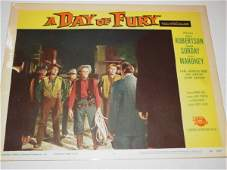 1334: A Day of Fury Lobby Cards - Starring Dale