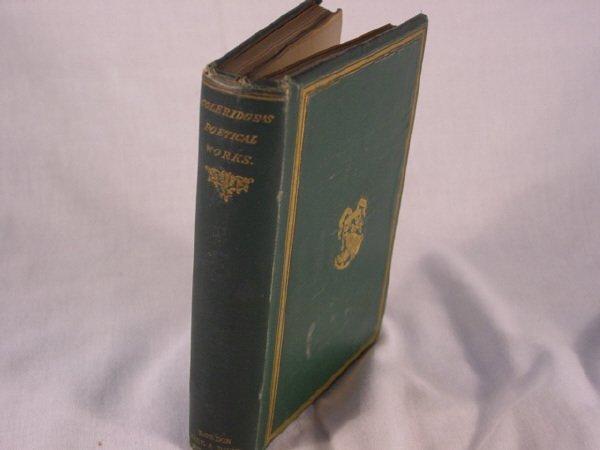 2013: The Poems of S.T. Coleridge 1864 Green