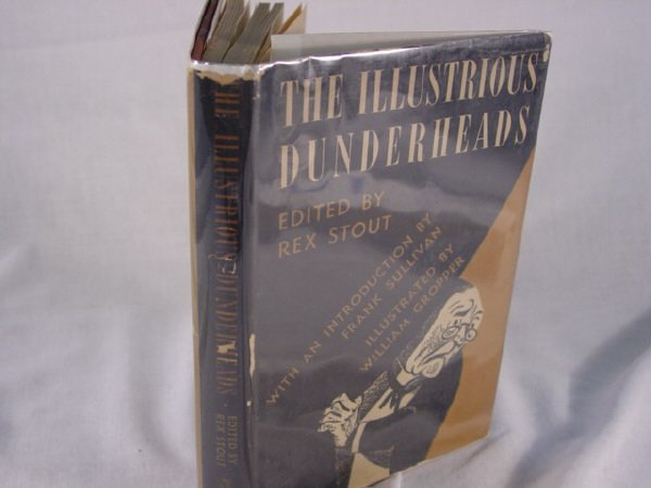 2015: The Illustrious Dunderheads Edited by Rex Stout