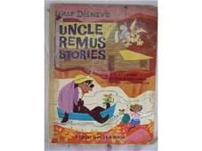 2019: Vintage Uncle Remus Stories Walt Disney