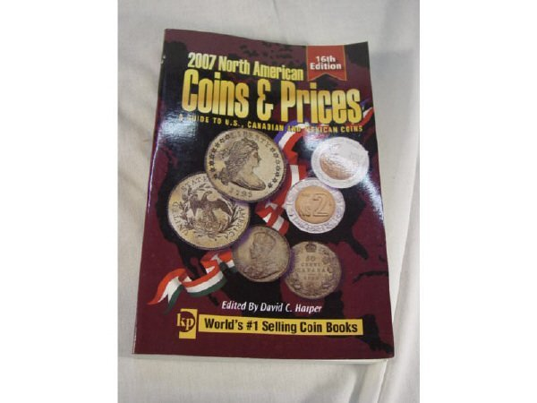 2021: 2007 North American Coins & Prices Reference book
