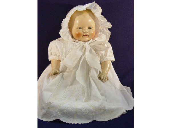 """662: E.I.H. HORSMAN DOLL CO BABY DIMPLES-18"""""""