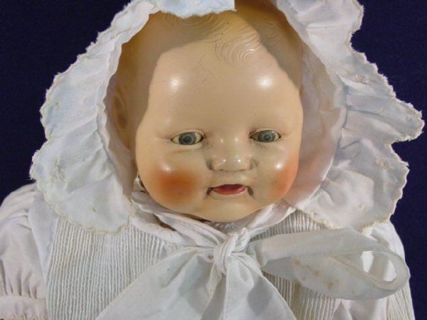 """662: E.I.H. HORSMAN DOLL CO BABY DIMPLES-18"""" - 2"""