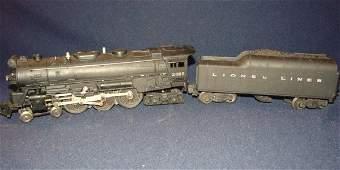 743: Lionel 2065 Steam Engine + 2046W Tender O Scale