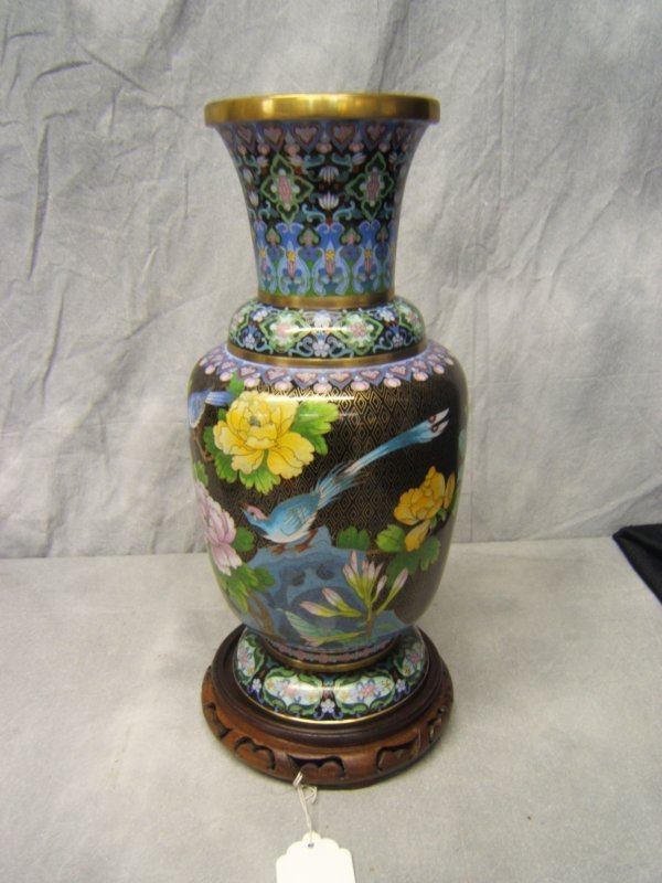 1: Cloisonne Vase
