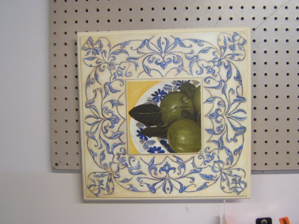 3: Wooden Wall Plaque Art By S. Hely