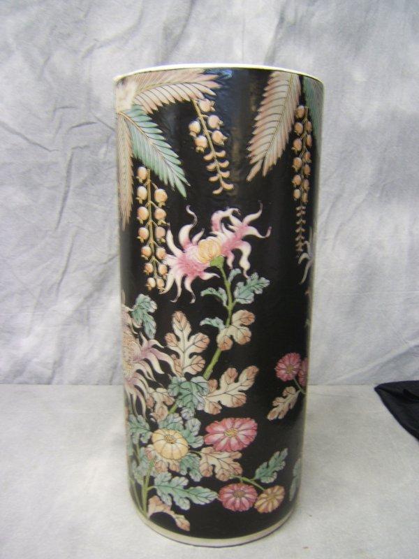 4: Oriental Enameled Porcelain Vase