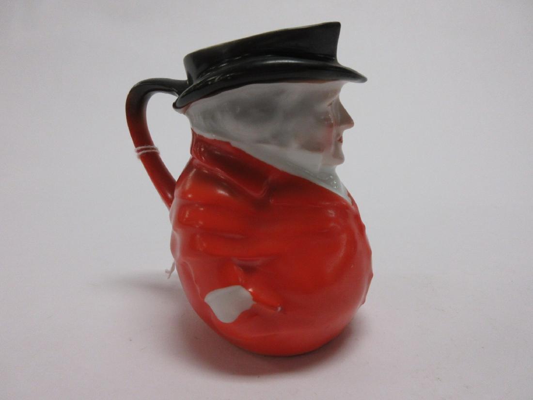 Royal Bayreuth Porcelain Toby Jug Pitcher Figural - 2