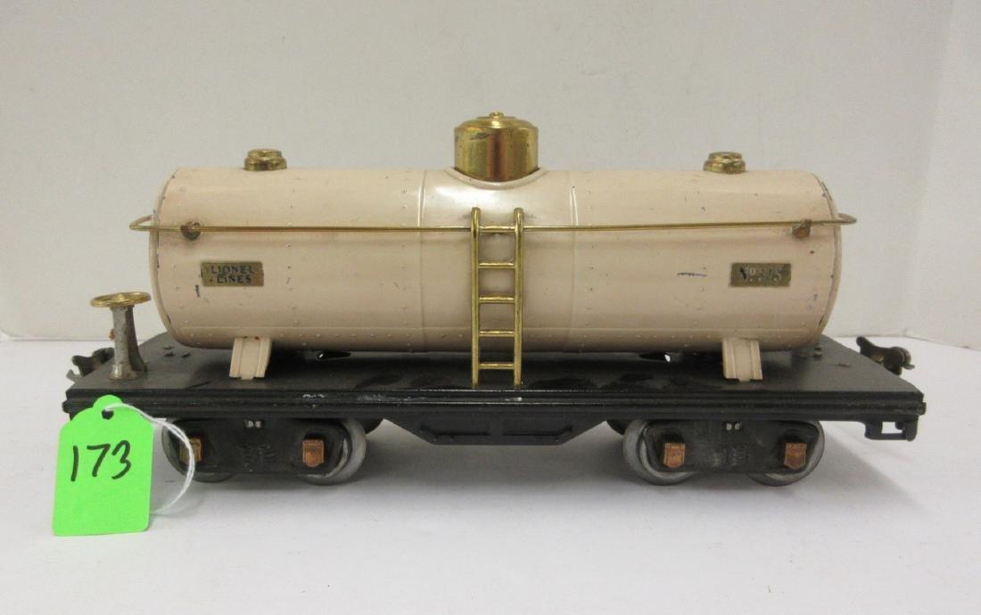 LIONEL 515 IVORY OIL CAR