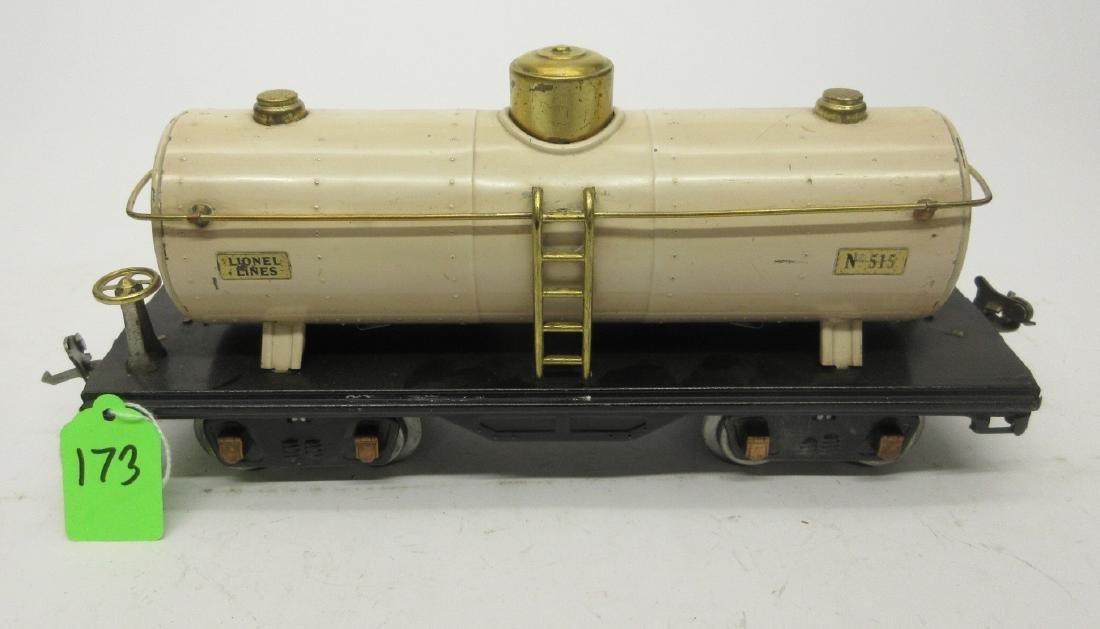 LIONEL 515 IVORY OIL CAR - 2