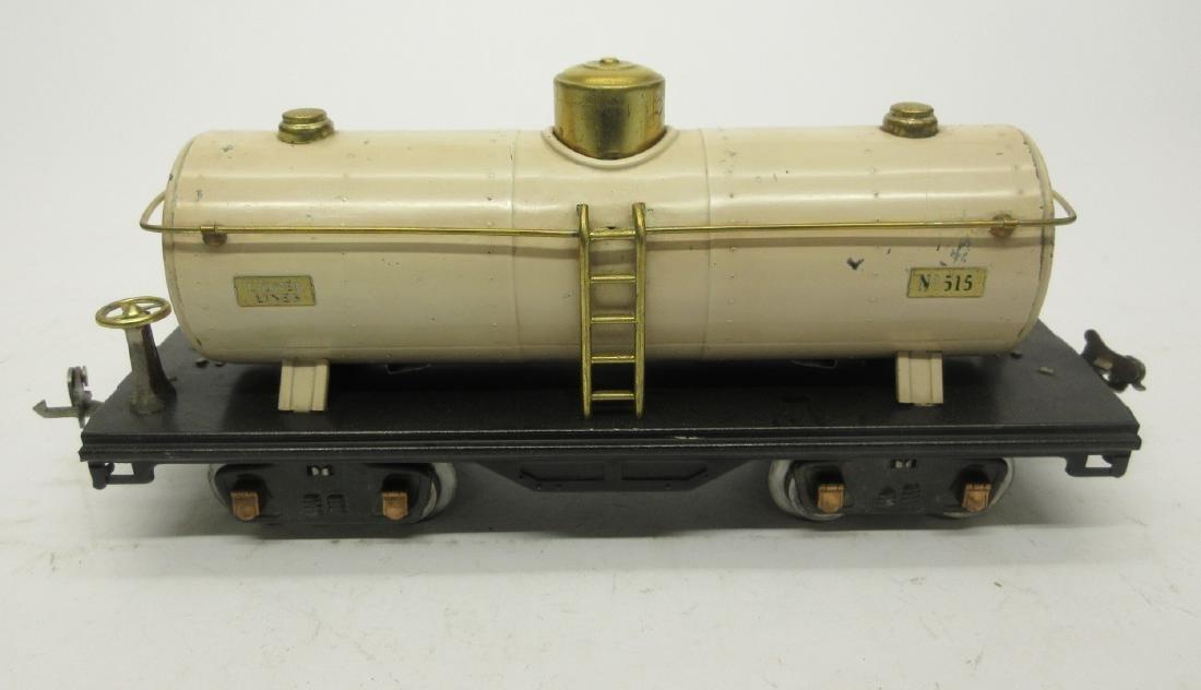 LIONEL 515 IVORY OIL CAR - 3
