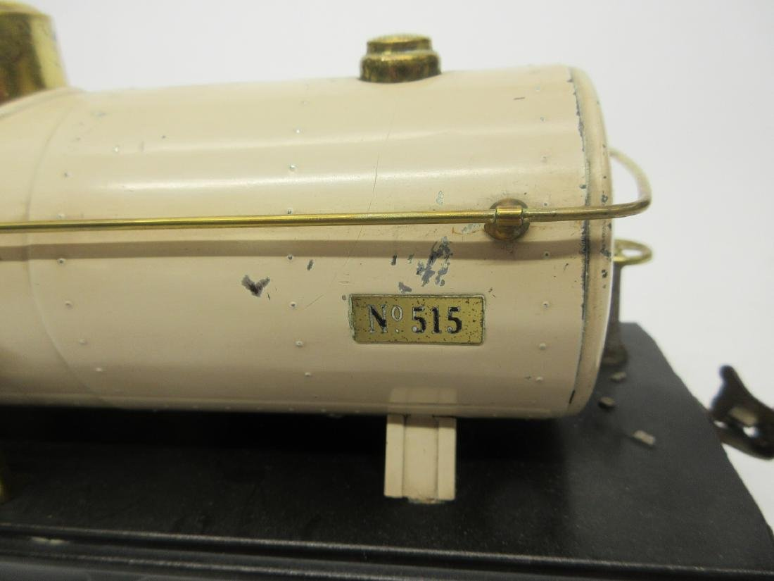 LIONEL 515 IVORY OIL CAR - 4