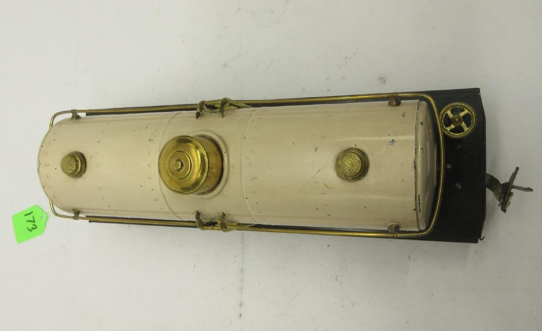 LIONEL 515 IVORY OIL CAR - 7