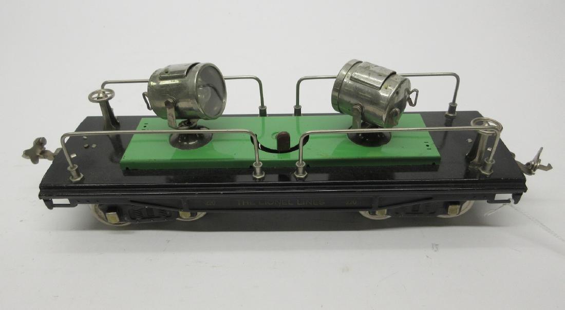 LIONEL 220 FLOODLIGHT CAR OB - 3