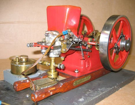 216: Working Model of Associated Gas Engine