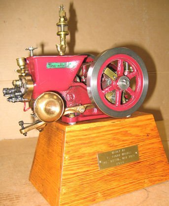 218: Working Model of New Holland Gas Engine