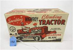 MARX SPARKLING CLIMBING HIGH BOY TRACTOR UNOPENED