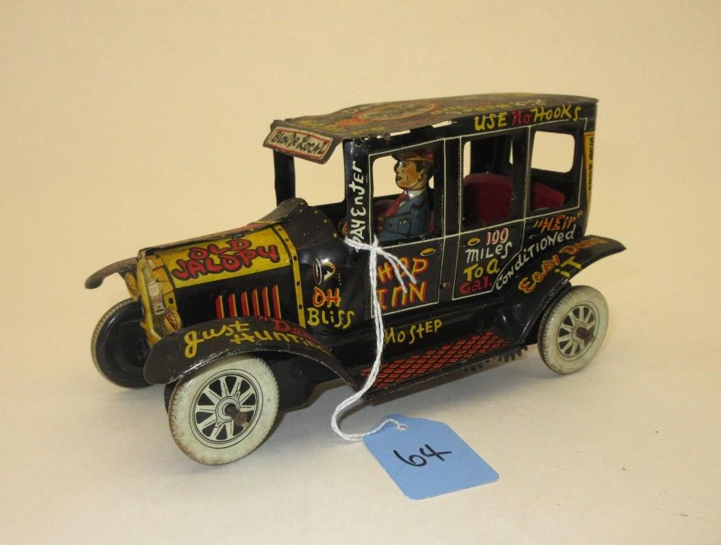 "MARX ""OLD JALOPY"" TIN WIND-UP"