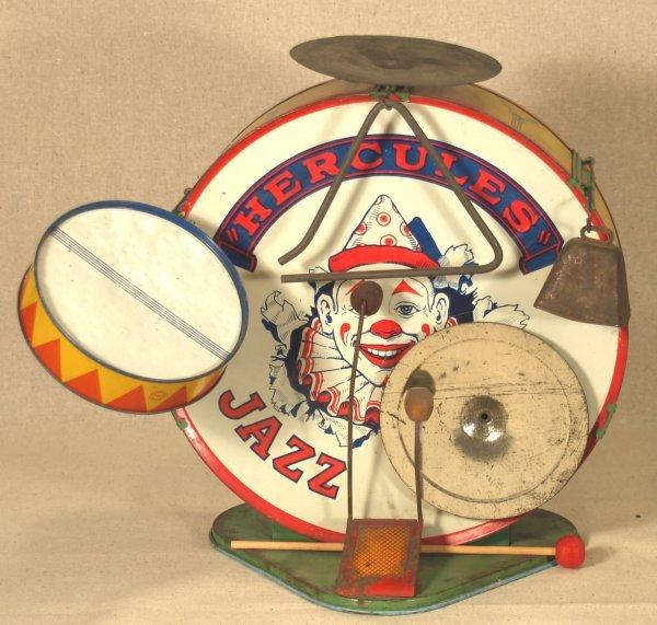 230 Vintage Chein Hercules Jazz Band Drum Set