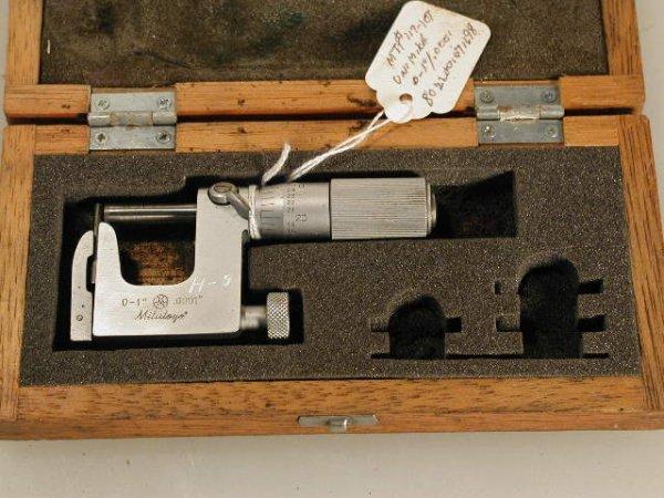 506: Mitutoyo Uni-Mike / Pin-mike 117-107 Micrometer