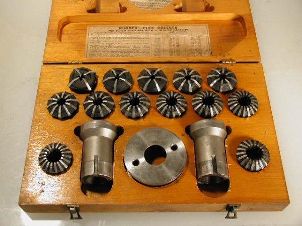 509: B & S Rubberflex collet set up Screw Machine