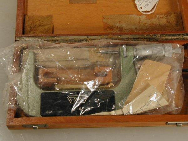 513: PAV 3 to 4 inch Spline Micrometer New