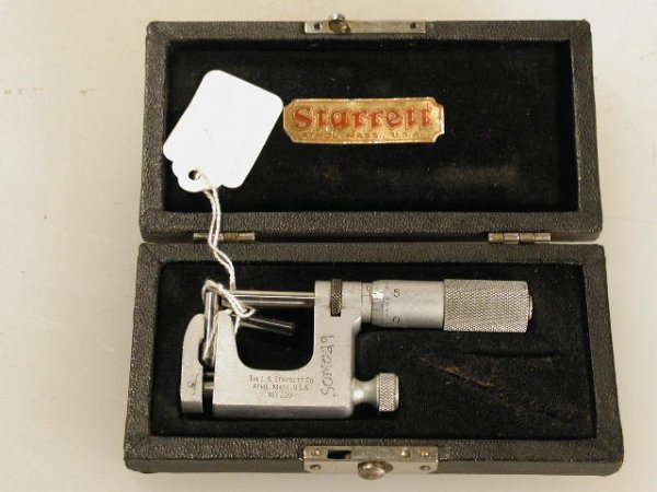 516: Starrett Uni-Mike Pin Micrometer 0 to 1 inch.