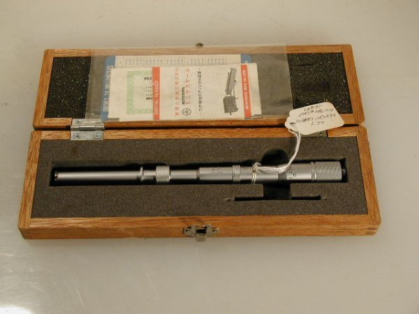 518: Mitutoyo 146-104 Groove Micrometer 0 to 1 inch