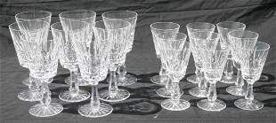Beautiful set of sgnd Waterford crystal incl 8 wine