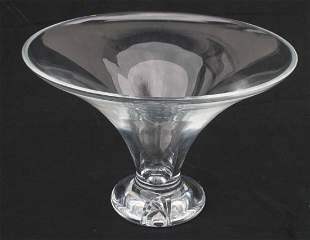 """sgnd Waterford crystal compote - 12 1/2"""" diam x 8 1/2"""""""