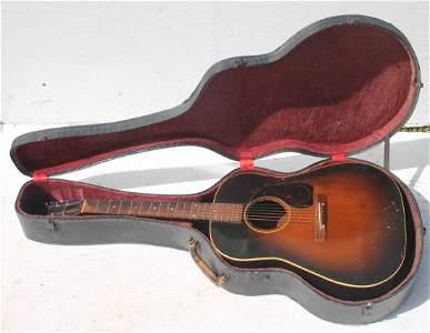 Rare 1946 Gibson Model J45 acoustic guitar in orig