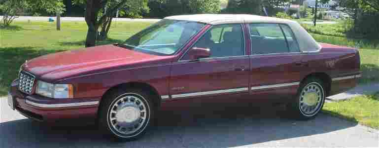 1998 Cadillac DeVille w 98,000 orig miles - always