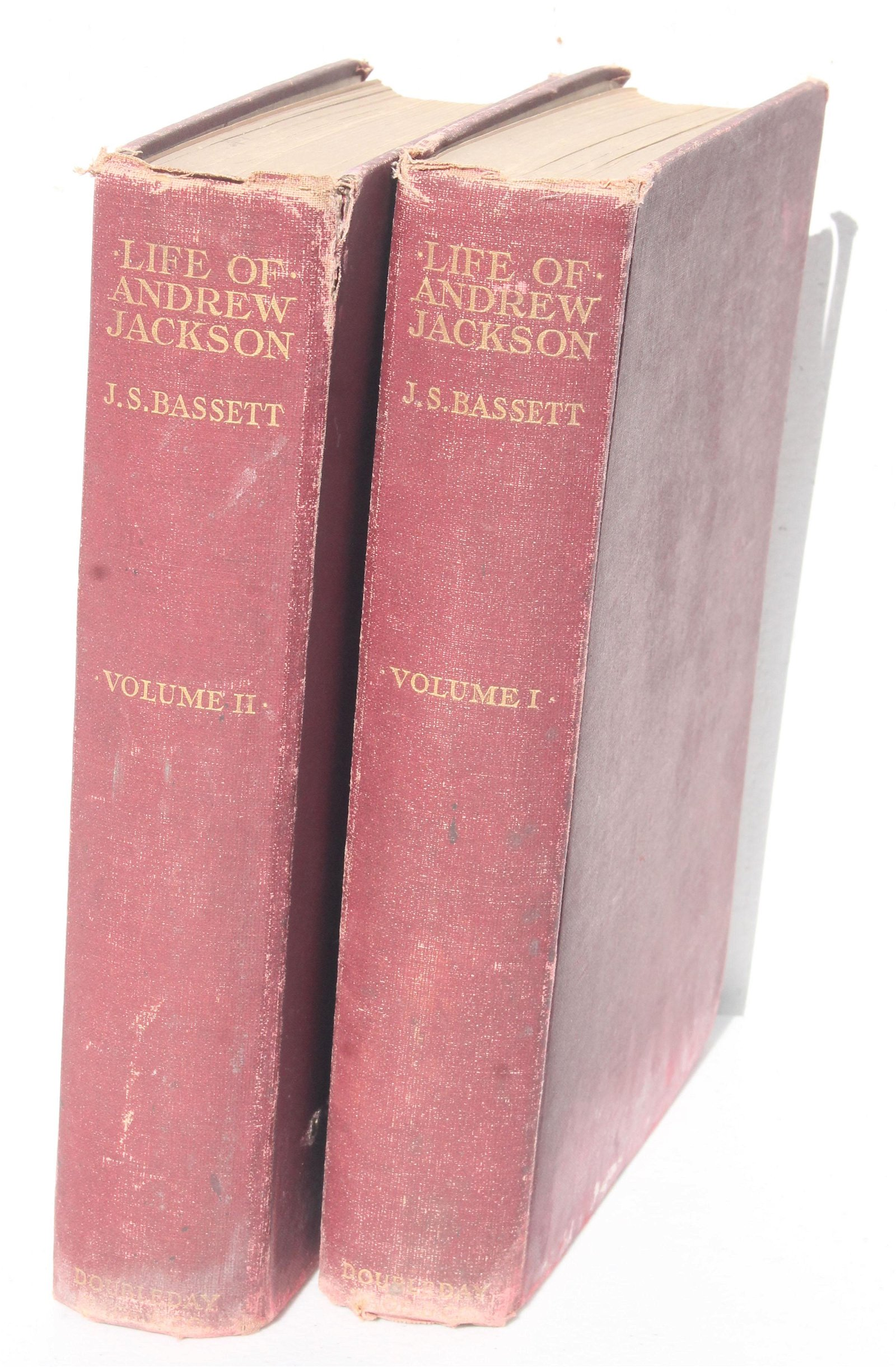 "2 volume set ""The Life of Andrew Jackson"" by John"