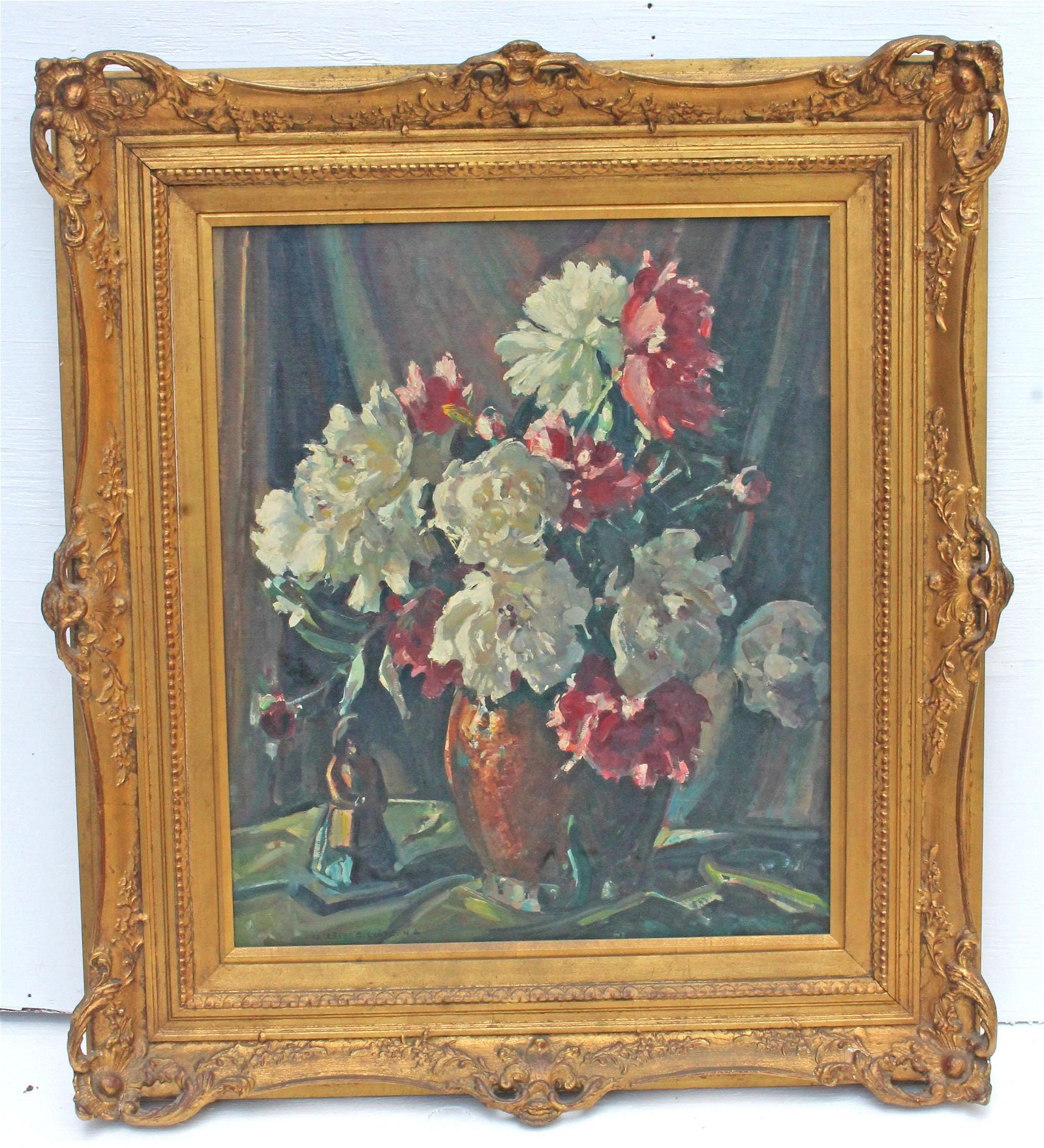 Signed William Lester Stevens (1889-1969) oil/canvas