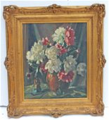 Signed William Lester Stevens (1889-1969) oil/canvas