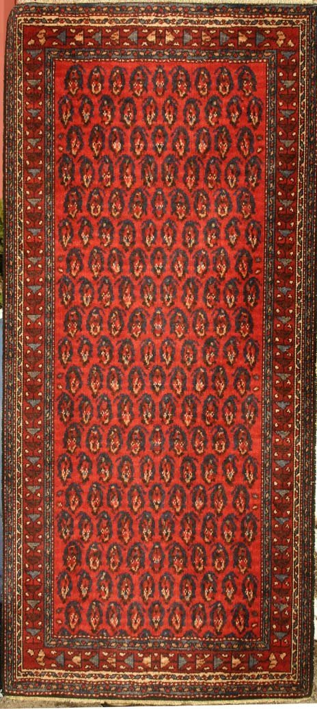 "12: 2'10""x6'3"" antique Persian Seraband Runner"
