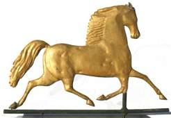 77 Outstanding ca 1880s Blackhawk horse weathervane
