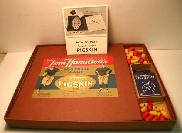 "13: Parker Bros Tom Hamilton's ""Pigskin"" Football Game"