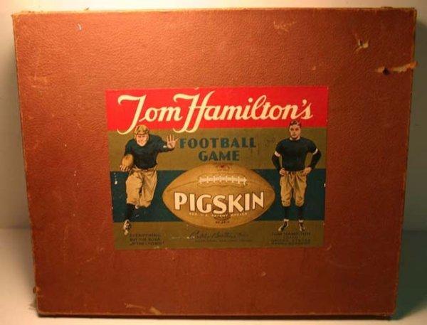 "13: Parker Bros Tom Hamilton's ""Pigskin"" Football Game  - 2"