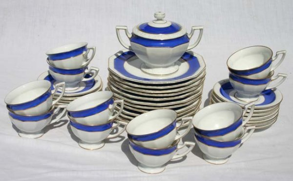 "1019: aprox 37 pc Rosenthal ""Maria"" luncheon set"