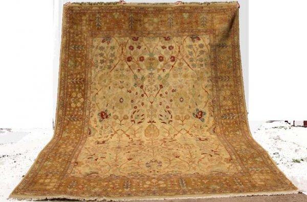 "21: Fine 9' x 13' 3"" Agra Sultanabad Oriental Rug"