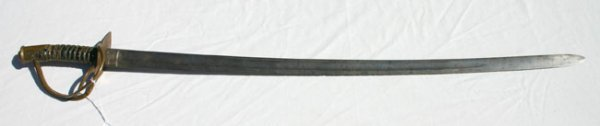 1003: Very scarce Civil War cavalry officer's engraved