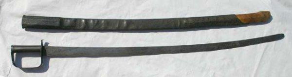 1004: Probable Confederate Blacksmith made calvary sabr