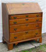 155 Ca 1780 period Chippendale Eastern CT maple w che
